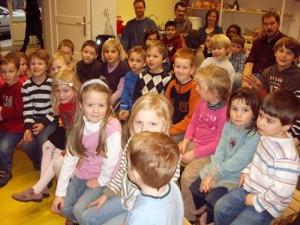 """Puppenspiel """"der Schatz im Schloss"""" am 7. Februar 2010 mit der Musikschule Eberhard und Michael Ilk"""