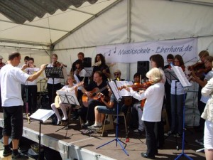 Musik, Musik, Musik: das Sommerfest Musikschule Eberhard 2009